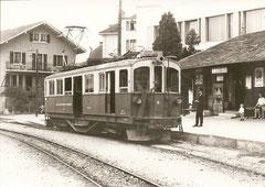 BDeh 4/4 6 in Monthey Ville am 13. 6. 1969