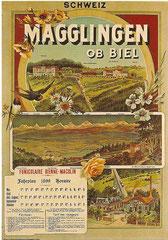 Plakat von 1899, Künstler unbekannt