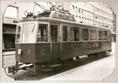Ce 4/4 1 von 1937 bis 1941 in Betrieb