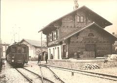 BCe 4/4 416 im Bahnhof Broc, 1913