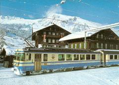 Station Len im Winter