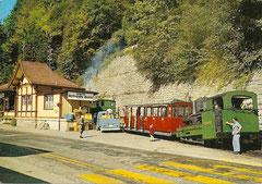 Talstation der Brienzer Rothornbahn