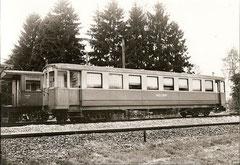Ehemaliger StSS B4 61 als OJB 25 in Langenthal am 17. 5. 1966