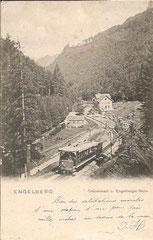 Gestempelt 17. 7. 1903 mit Zusatzstempel Grünenwald