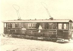 BCFe 4/4 1 von 1903 von SWS/Alioth, Abbruch 1952
