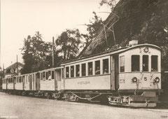Ce 4/4 5 mit C Serie 21 aus 1904 + FZ Serie 51 um 1922