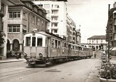 Beim Bahnhof Zug, 1950