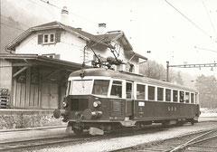 Be 2/4 201, erbaut 1935 als BN Ce 2/4 787, 1958 an die OeBB gegangen