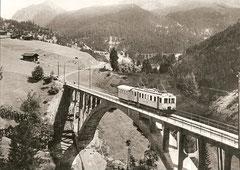 BCFe 4/4 1 am Plessurquai in Chur um 1935