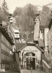 Anlage von der Talstation aus, 28. 11. 1976