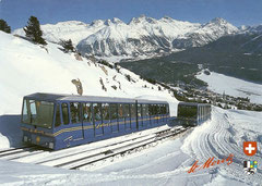 Die neue Corviglia-Bahn