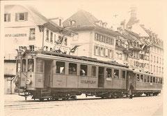WT  CFe 4/4 102 um 1924 in Bern (Kornhausplatz)