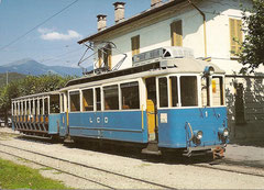 Triebwagen BFe 2/3 1 im September 1966 in Dino