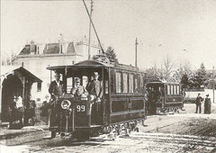 Wagen 99 + 101 um 1900