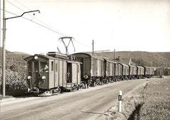 De 4/4 41 am 6. 9. 1974 zwischen Bielen und Gränichen