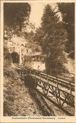 Gestempelt Sonnenberg 2. 7. 1911