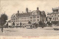 L'Acadeémie Ste-Croix, gelaufen 21. 9. 1909