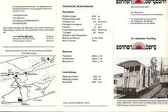 Prospekt von 1982