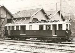 ABDhe 4/4 32 in Vernayez 1960