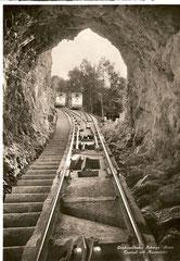 Tunnel mit Ausweiche