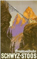 Plakat von 1936, Künstler unbekannt