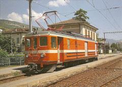 """Posttriebwagen Ze 4/4 4 """"Tresa"""", 15. Juli 1989"""