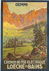 Plakat von 1912, Künstler unbekannt