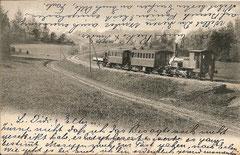 Uetlibergbahn, gelaufen am 27. 10. 1905