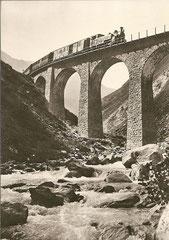 Wilderbrücke über die Furkareuss