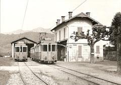 Bahnhof von Dino am 17. 5. 1970