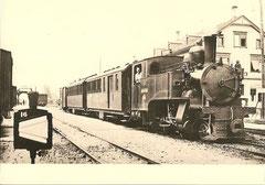 "HG 2/4 8 ""Fröhlichsegg"" +CF4 +BC4 + Z um 1925"