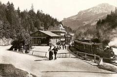 Station Brünig der Jura - Simplon - Bahn