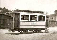 TB C 13 abgestellt in St. Gallen Nebenbahnhof 1951