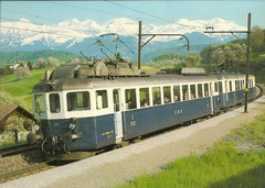ABDe 278 703 in Kumm am 11. 5. 1982