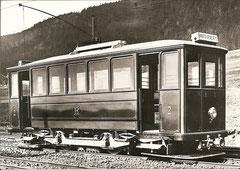 Ce 2/2 2 beim Depot Cernier um 1903