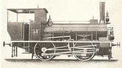 Bn2-Tenderlokomotive von 1868