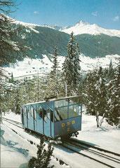 Wagen Nr. 2 der Schatzalpbahn