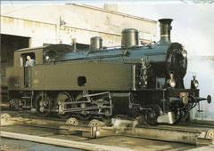 Lok SMB Ec 4/5 Nr. 11 auf der Schiebebühne im Depot Burgdorf