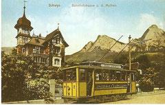 Einer der 3 Drehstrom-Triebwagen