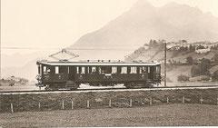 BCe 4/4 421, bei Gruyère 1922