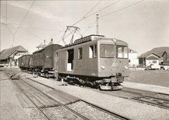 De 4/4 60 in Worblaufen, 1962