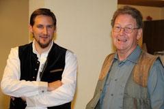 Die Dirigenten: Jürg Valer und Rolf Rauber