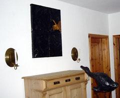"""""""dumme gans von etelsen"""", installation, 2006"""