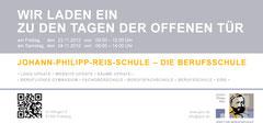 JPRS 3.0 - Tage der offenen Tür Flyer Rückseite