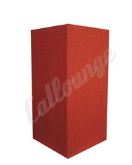 Kratzturm medium pure true red hinten/links