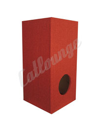 Kratzturm medium pure true red links/front