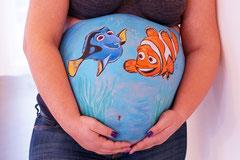 Babybauchbemalung Stuttgart Kinderschminken Ludwigsburg
