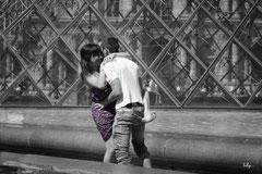 Amoureux au Louvre