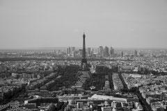 Vue depuis le haut de la Tour Montparnasse