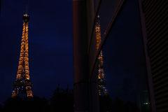 Reflet de la Tour Eiffel